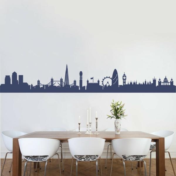 cité-Londres-sticker-salle-de-manger-chaises-table