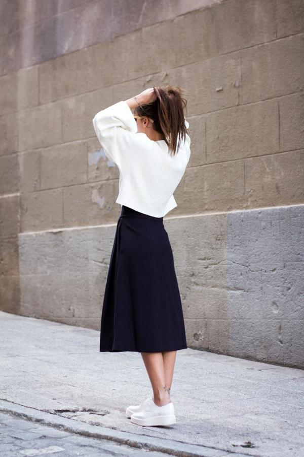 comment-porter-une-jupe-longue-noire