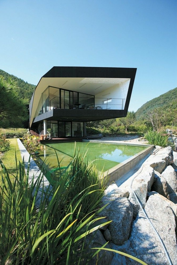 architecture organique 50 id es d inspiration. Black Bedroom Furniture Sets. Home Design Ideas