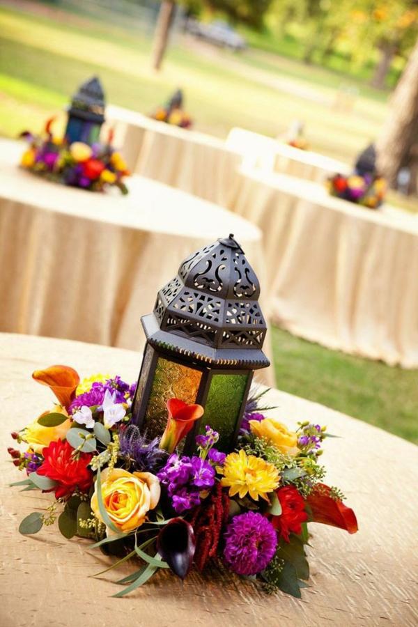 couronne-de-fleurs-table
