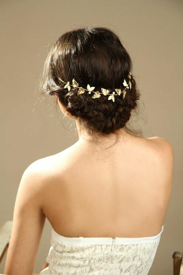 couronne-fleurs-dorés-brun