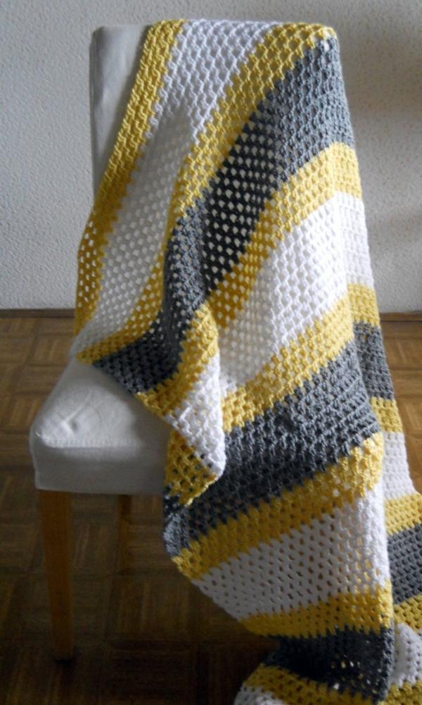 couverture-tricotée