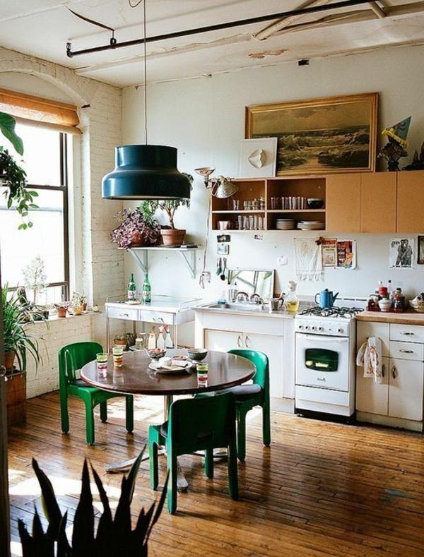 cuisine-ambiance-joviviale-nature-plante-verte-d-intérieur-salle-à-manger