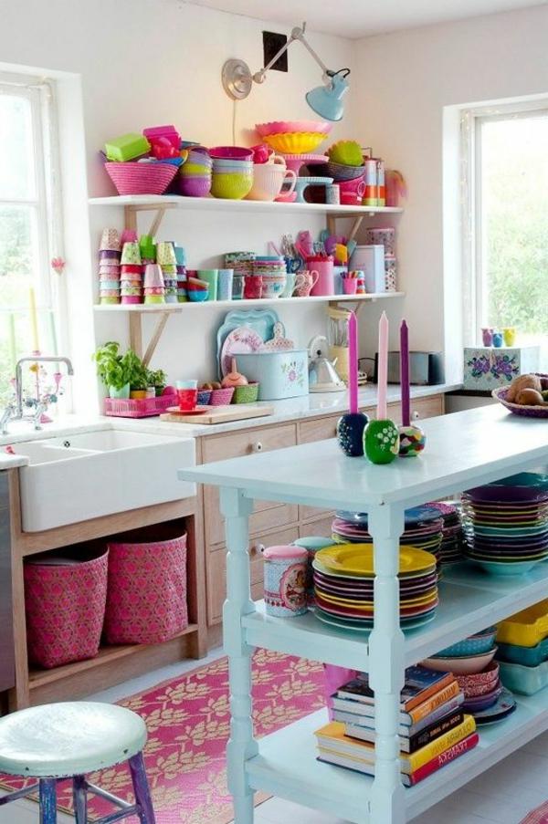 cuisine-coloré-bleu-rose
