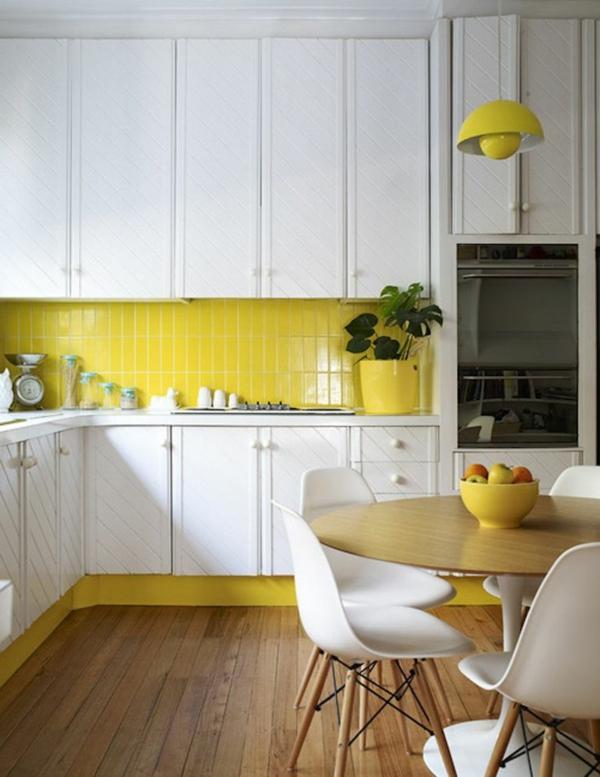 cuisine-jaune-blanc