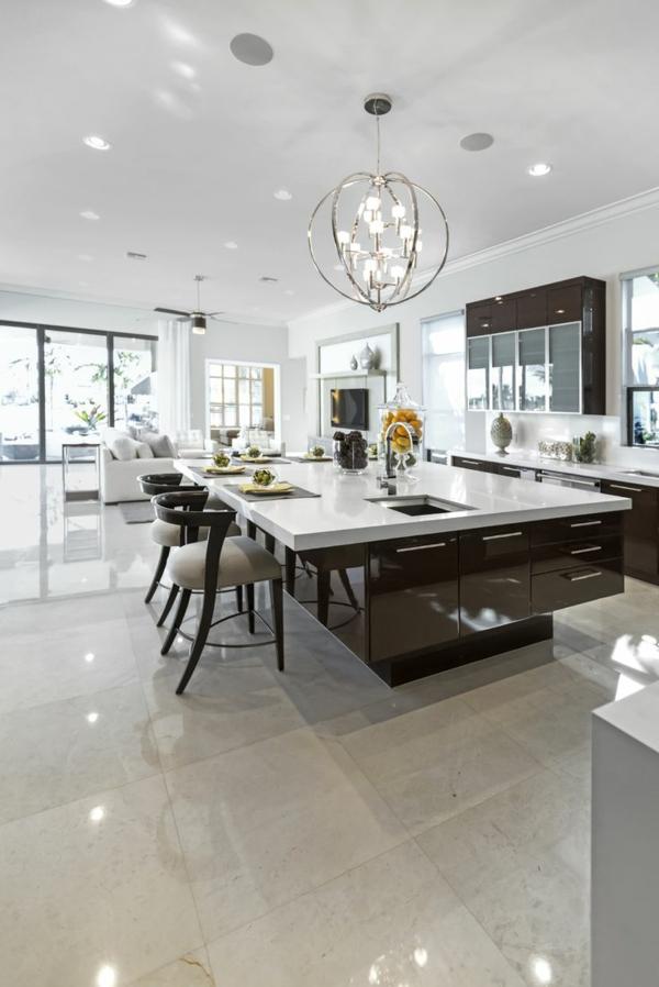 cuisine-moderne-brune-blanc