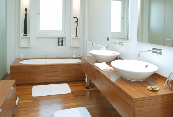 décoration salle de bain aqua