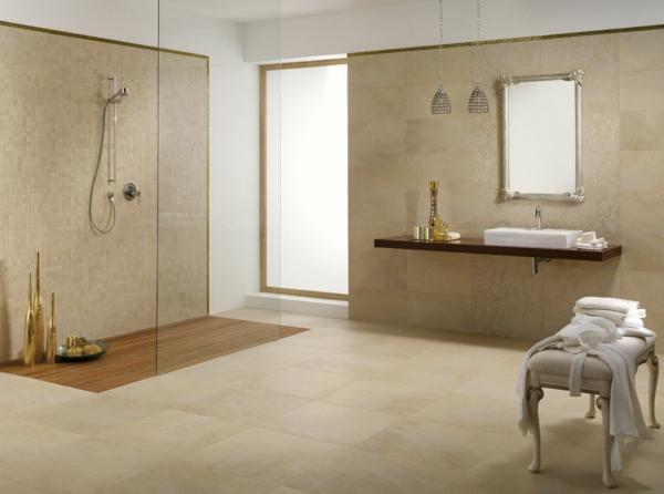 Exemple Salle De Bain Zen : déco-salle-de-bain-zen-beige-zen-nature