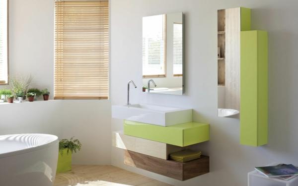 D co salle de bain zen for Salle de bain gris et vert