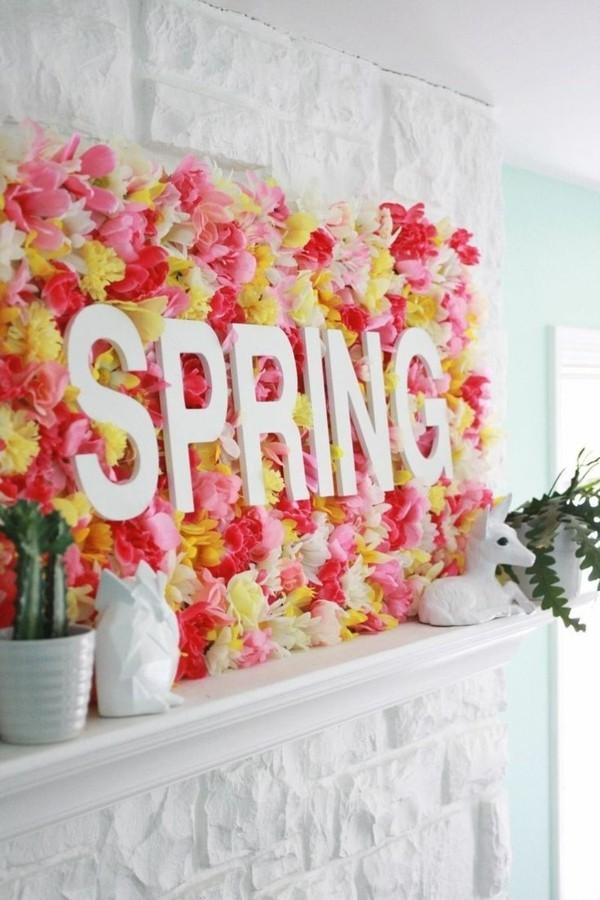 décoration-chambre-printemps-fleurs-spring