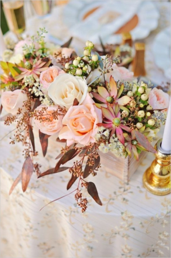 décoration-coloré-fleur-table