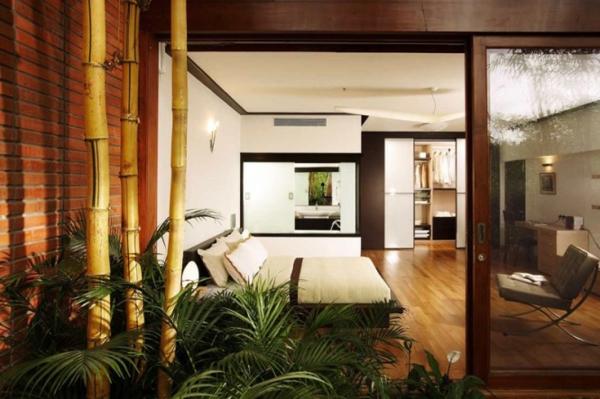 décoration-de-la-chambre-à-coucher-arbre-chambre-à-coucher-jolie-en-verte