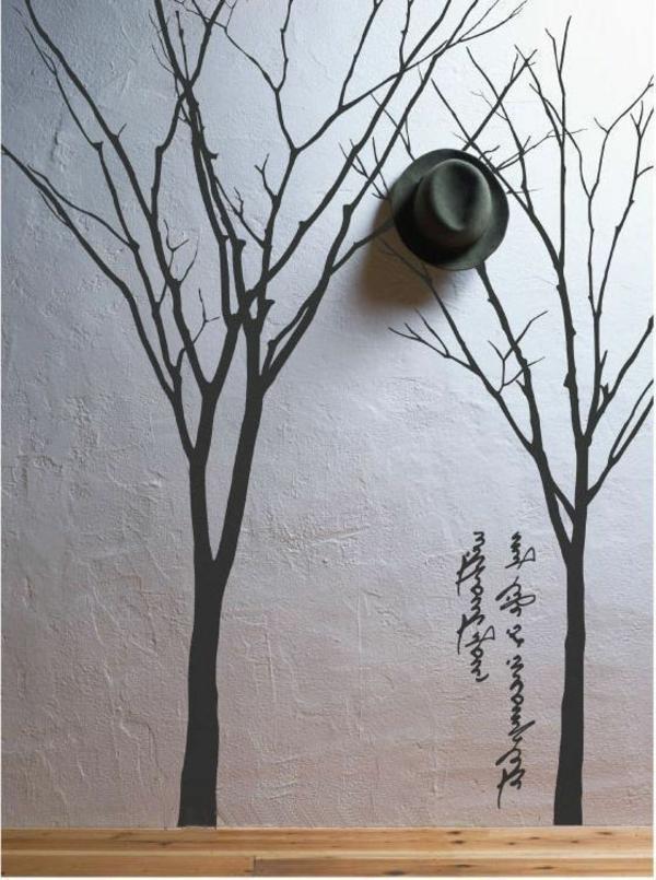 décoration-de-la-mur-chambre-sticher-chambre-adulte