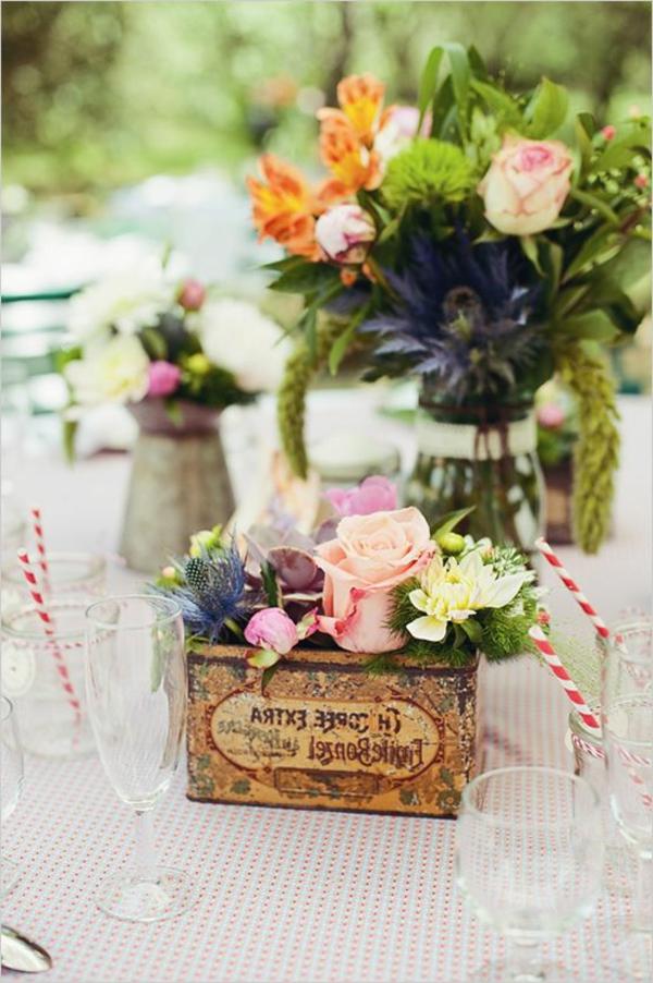 décoration-fleurale-pour-la-table