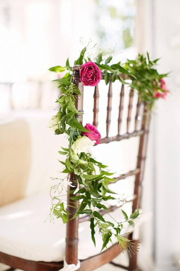 décoration-florale-chaise
