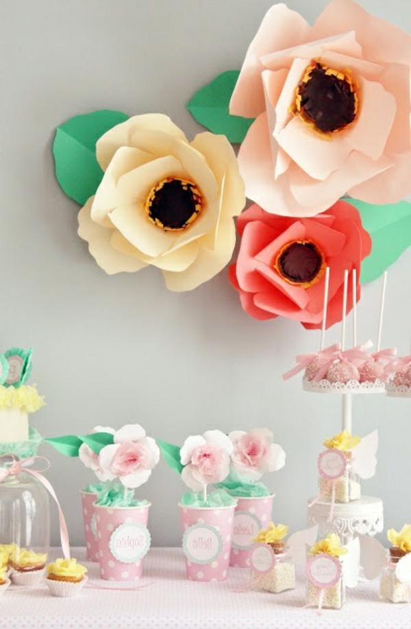 décoration-florale-papier