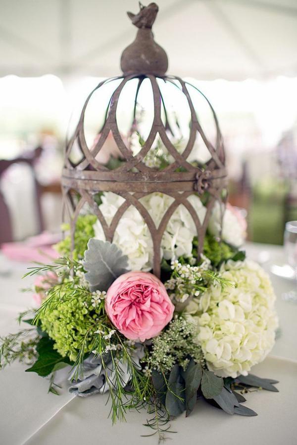Deco fleurs table