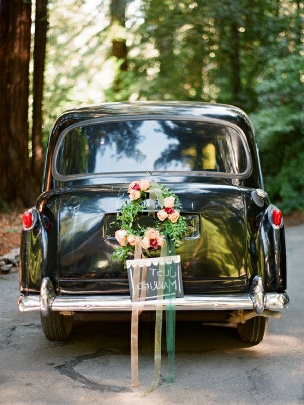 decoration voiture mariage originale photos photo erin kate photo with decoration voiture. Black Bedroom Furniture Sets. Home Design Ideas