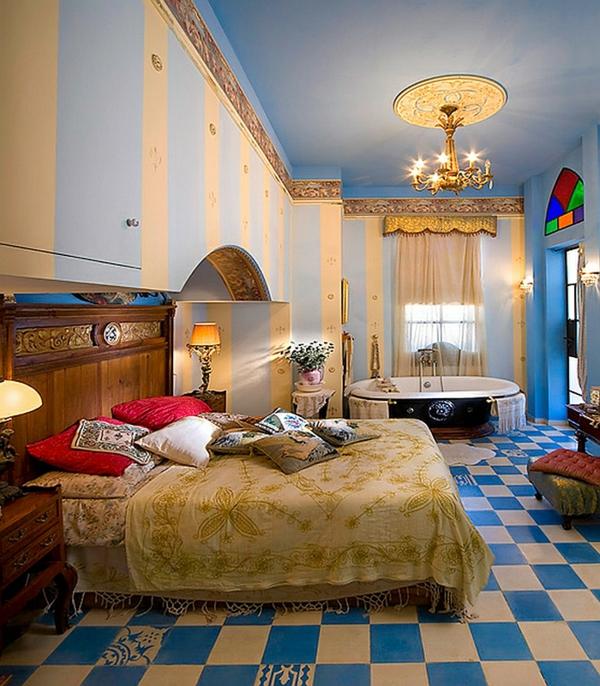 décoration-orientale-chambre-à-coucher-des-contes-de-fées