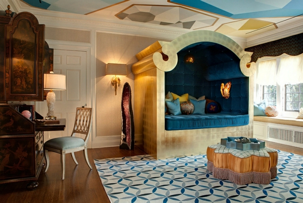 décoration-orientale-chambre-à-coucher-magnifique