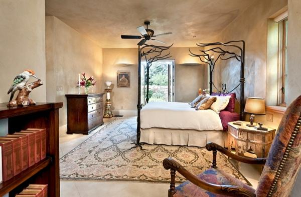 décoration-orientale-chambre-à-coucher-orientale
