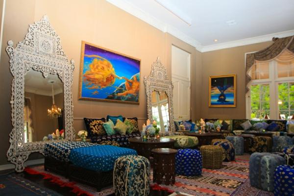 décoration-orientale-salle-de-séjour-orientale