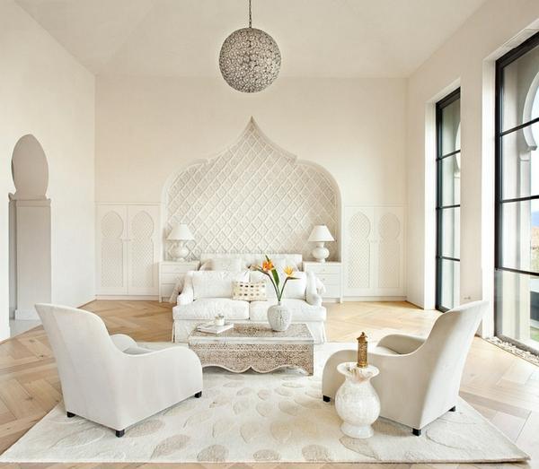 décoration-orientale-salon-blanc