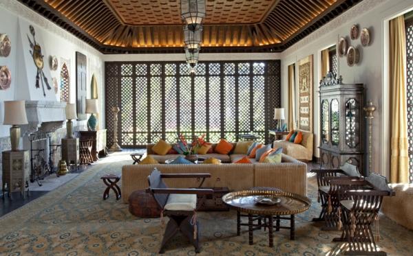 Dcoration orientale salon stunning cool exceptional - Maison plain pied deco orientale palm springs ...