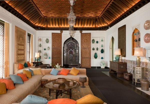 décoration-orientale-un-style-oriental-de-l'intérieur