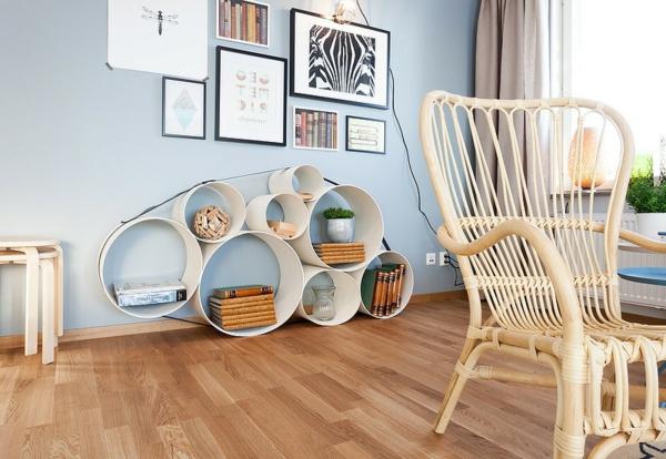 décoration-scandinave-chaise-vintage