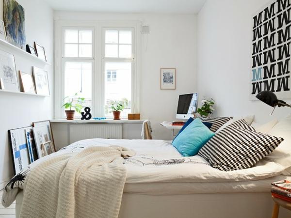 décoration-scandinave-chambre-à-coucher