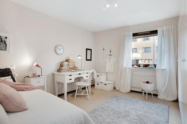 décoration-scandinave-chambre-commode-et-douce
