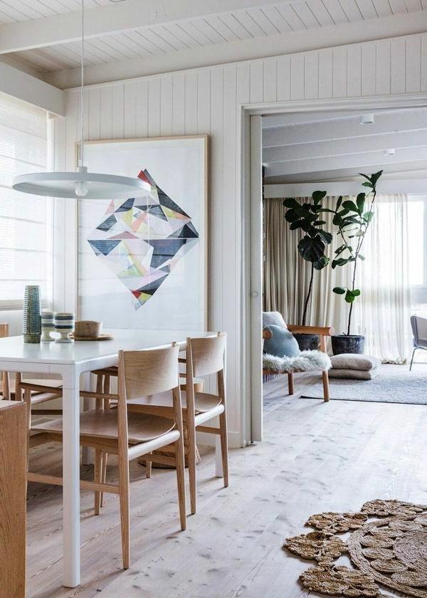 décoration-scandinave-salle-à-manger