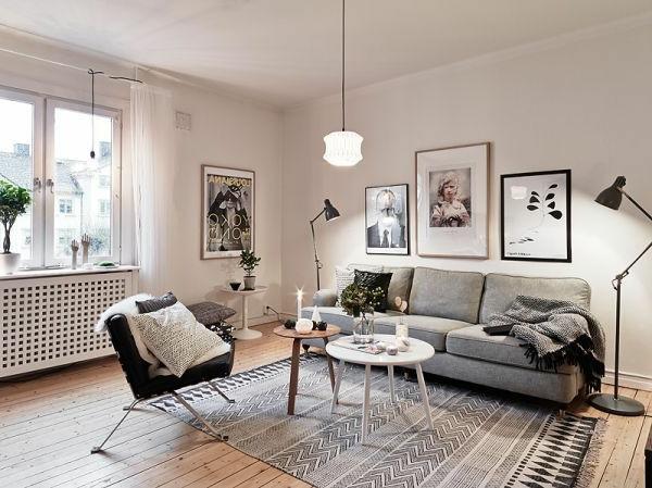 décoration-scandinave-salle-de-séjour-nordique