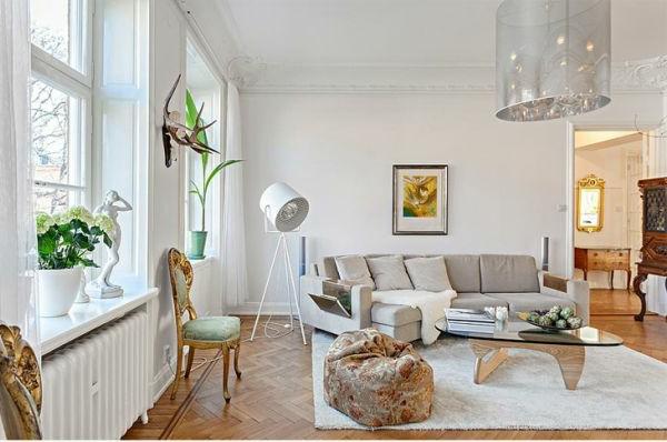 décoration-scandinave-salle-de-séjour-scandinave