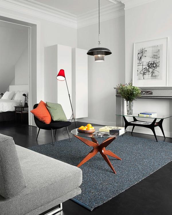 décoration-scandinave-tapis-gris-et-table-basse