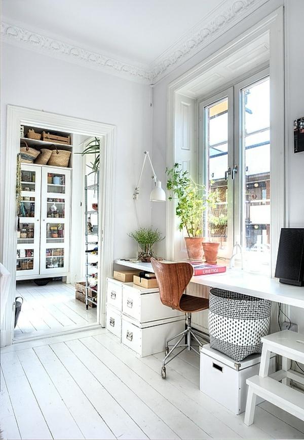 décoration-scandinave-un-bureau-suspendu