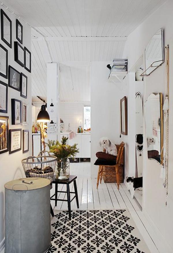 décoration-scandinave-un-design-blanc-à-éléments-rustiques