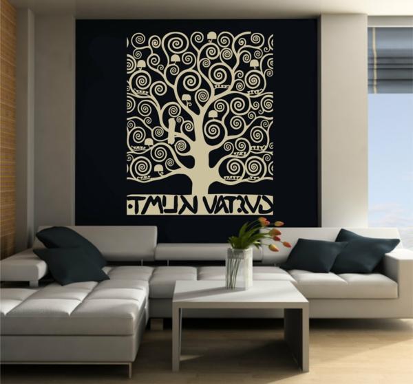 décoration-simple-en-noir-et-gris-salle-de-séjour-vaste-lumineuse