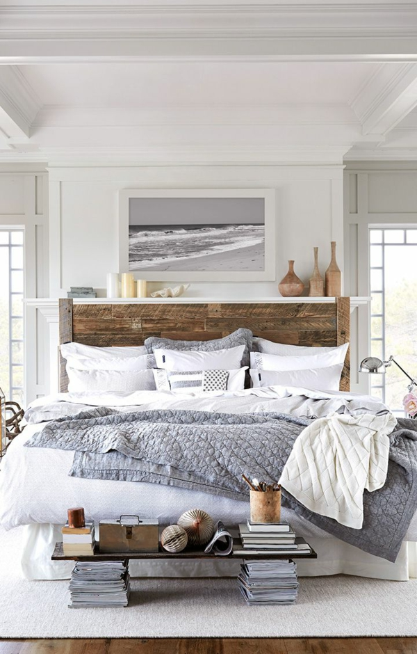 décorer-sa-chambre-dormir-lit-peinture-de-mer-printemps-été