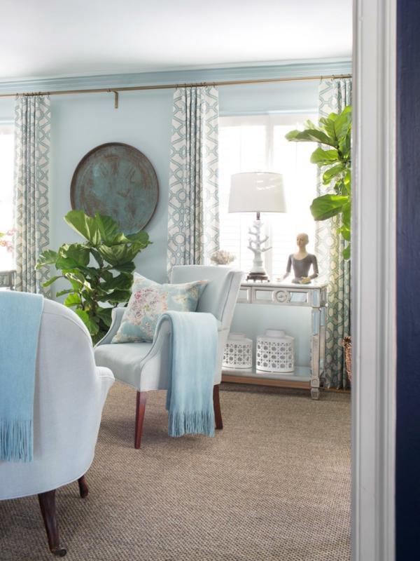 décorer-sa-chambre-pour-le-printemps-arbre-feuille-manger-chaise-table