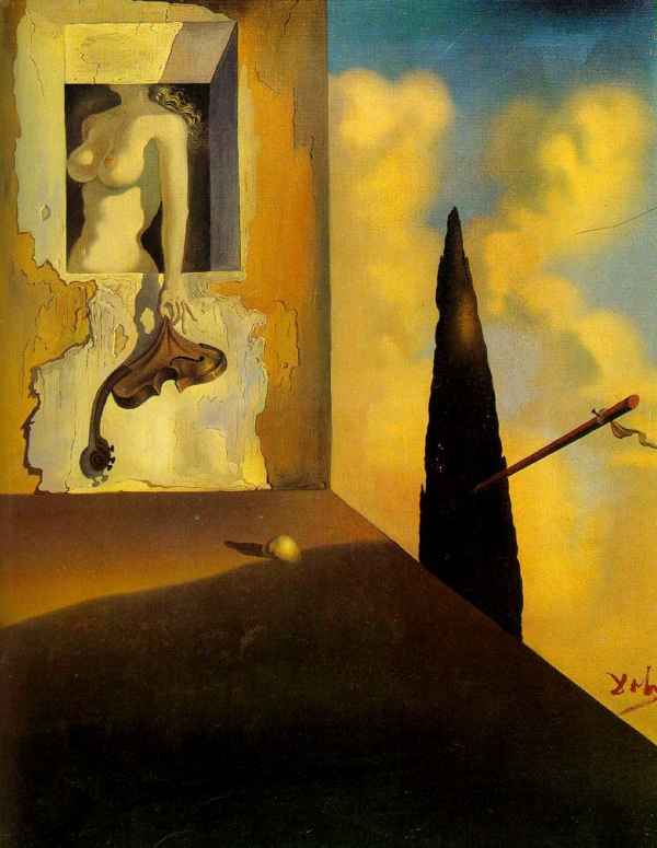 dali-Salvador-masochiste-instrument-1933-1934-oil-on-canevas