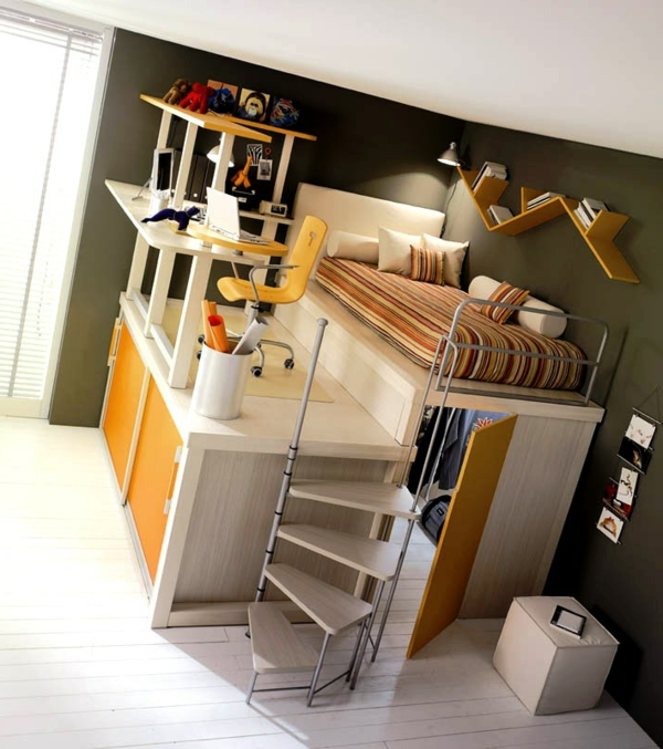 idee amenagement petite chambre ado avec. Black Bedroom Furniture Sets. Home Design Ideas