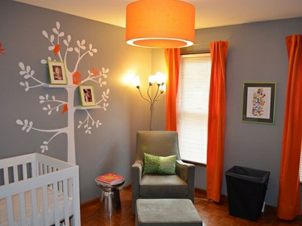 deco chambre bebe gris et orange avec des id es int ressantes pour la conception. Black Bedroom Furniture Sets. Home Design Ideas