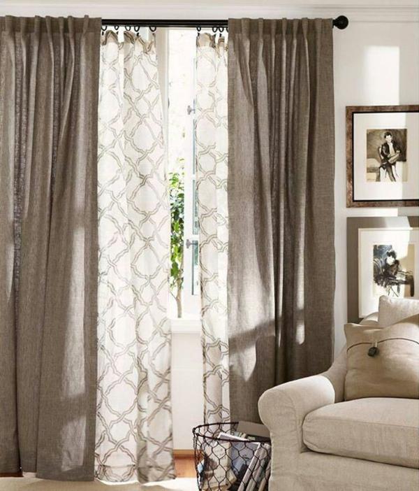 Rideaux pour fen tre id es cr atives pour votre maison for Rideaux originaux pour salon