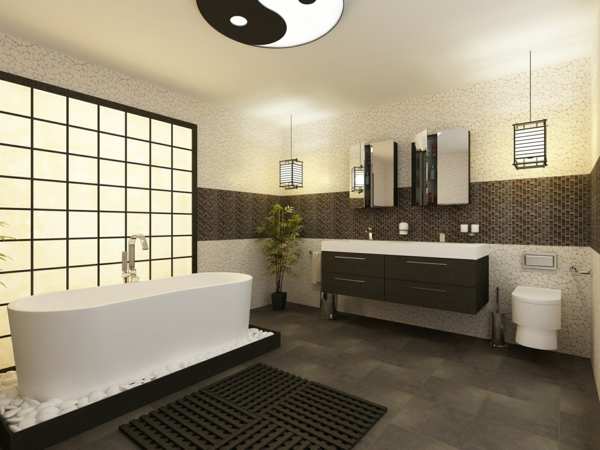 deco fenetre salle de bain. Black Bedroom Furniture Sets. Home Design Ideas