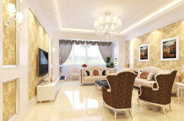 inspiration-séjour-chaises-sofa-style-baroque