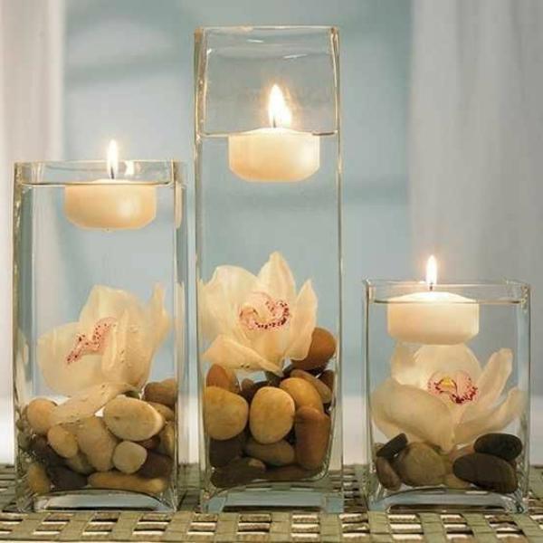 inspiration-zen-pour-décoration-de-salle-de-bain-lumières-candle