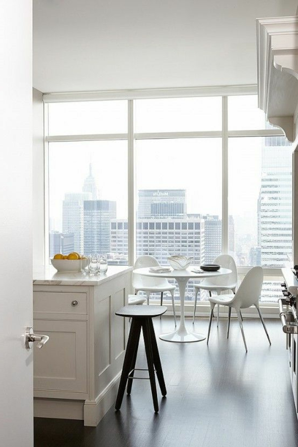 Les appartements new yorkais Salle a manger new york