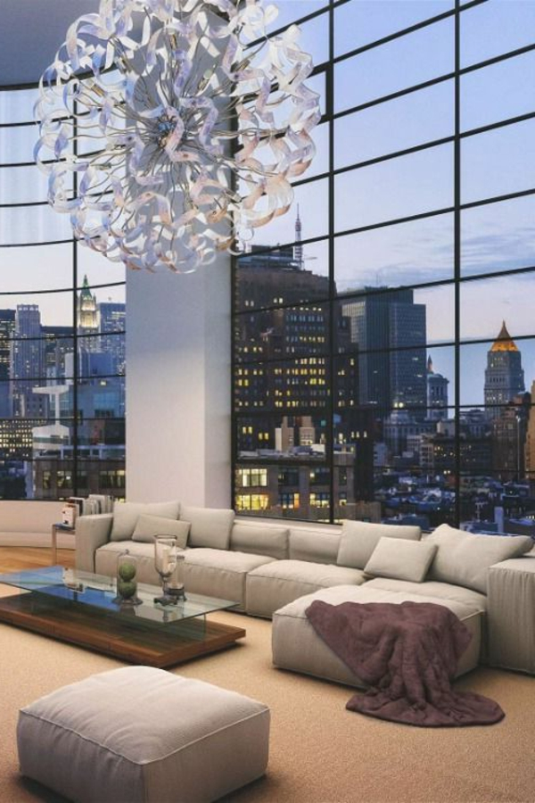 intérieur-de-un-appartement-new-yorkais-luxe